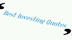 best investing quotes